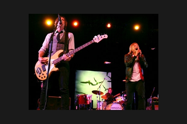 Switchfoot start tour at ECPAC 2009.jpg